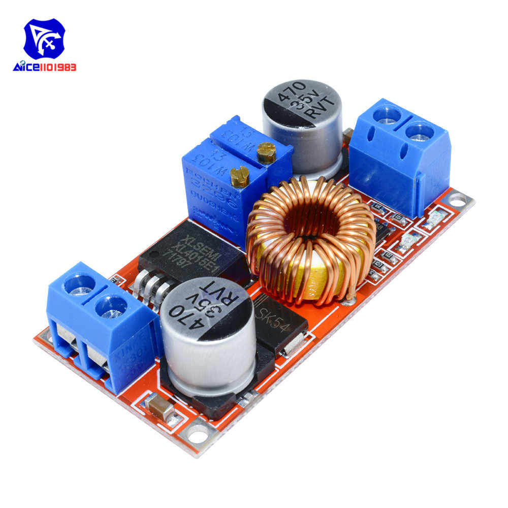 XL4015 Max 5A 75 W CC/CV DC 4-38 V à 1.25-36 V Module d'alimentation convertisseur abaisseur réglable pour Arduino