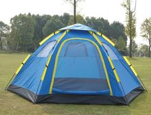 2015 style high quality 5-8 people tourist double layer 6 family camping Tourist tent automatic 240 * 305 * 140cm 2015 new style high quality double layer untralarge one hall one bedroom family party camping tent