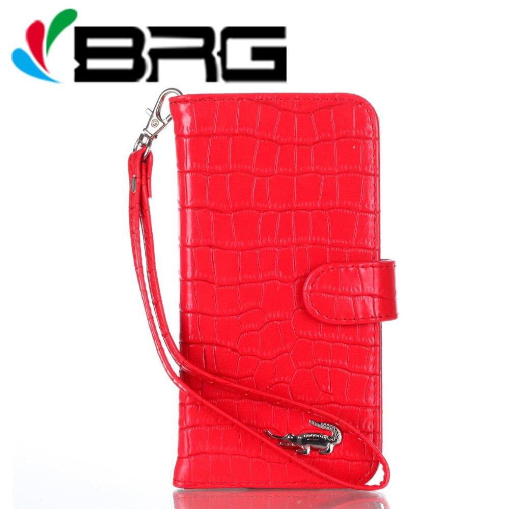 Pour l'iphone 8 De Luxe Femmes Sac À Main Crocodile En Cuir Portefeuille Cas pour iPhone 7 7 Plus 8 Plus Cover Support à Funda