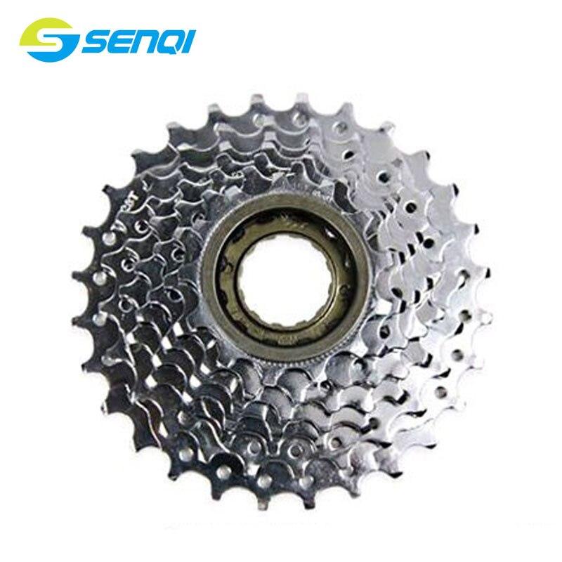 6S/7S/8S/9S/10 скоростей горный велосипед индекс велосипеда маховик стальной свободный колесо с резьбой CZF004