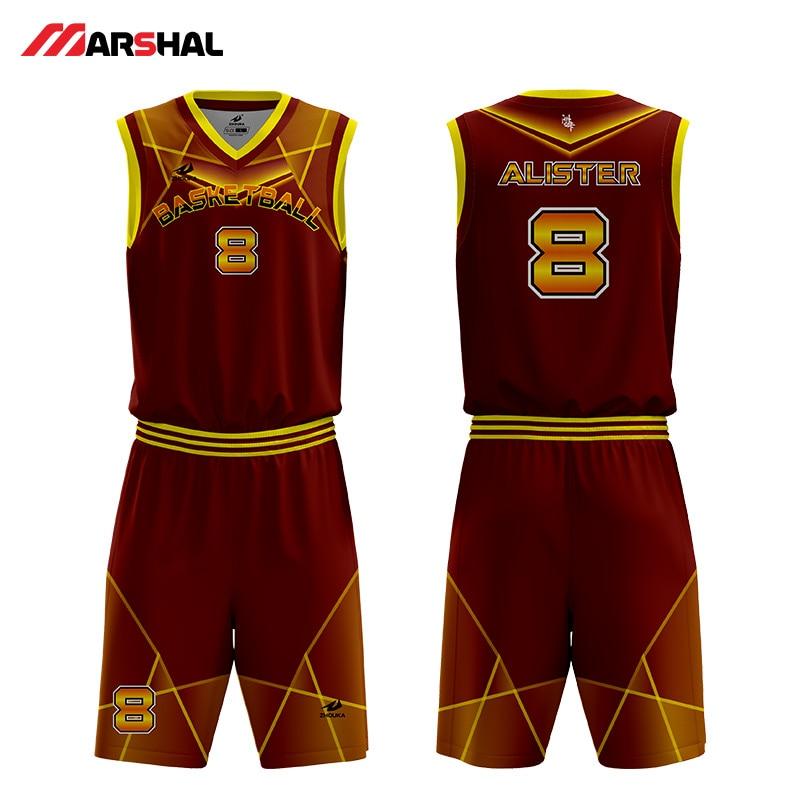 dc86071d06 Personalizado equipo 4XL retroceso encargo plain baloncesto jersey vestido  de diseño en línea