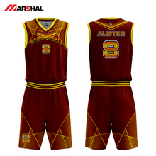 Customized team 4XL throwback custom plain basketball jersey dress design  on line(China) 93dc131aa90c