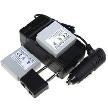 Menino Digital 2 PCS IA-BP85ST IABP85ST BP85ST dia + bateria + carregador de carro para Samsung VP-MX10 SMX-F30 SMX-F33 câmera
