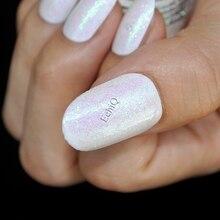 Dazzling Clear White Nail Art Glitter