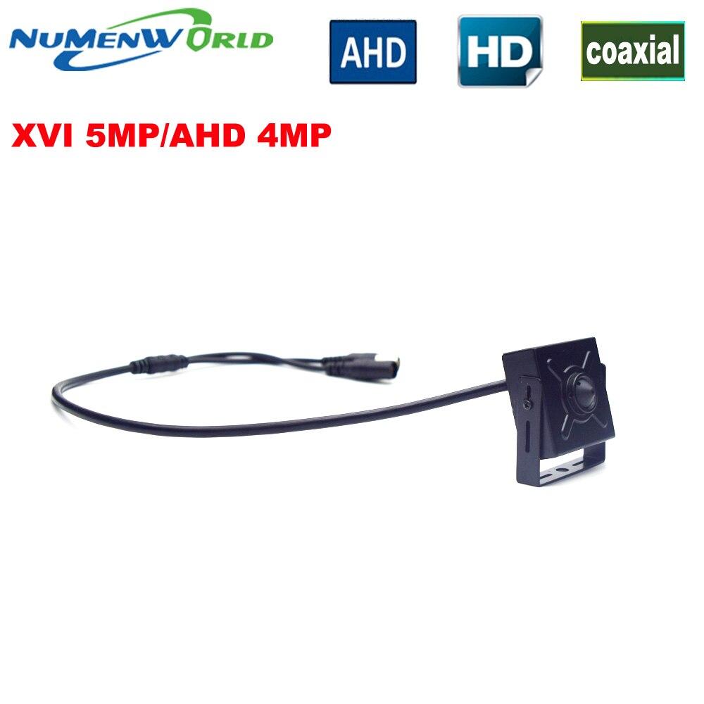 Мини AHD купольная камера 5MP XVI/4MP AHD камера HD CCTV камера безопасности аналоговая видеокамера AHD для домашнего использования с объективом 3,7 мм