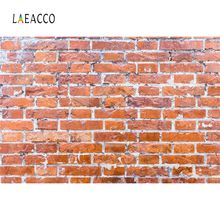 Laeacco Old Brick Wall Pattern Wallpaper Party Portrait Baby Photography Backgrounds Backdrops For Photo Studio