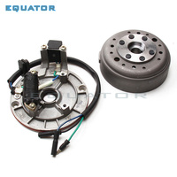 Motorcycle parts Original YinXiang YX140cc Engine Magneto Stator coil Rotor kit For Oil cooling Horizontal Engine Dirt Pit Bike