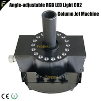 CO2 Cryogenic Smoke Stage Jet Machine DMX512 RGB 3in1 Wash LED CO2 Jet Theatrical CO2 Cooling Effect Fog Smoke Device