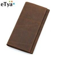 Cổ điển Người Mang Hộ Chiếu Trường Hợp Genuine Leather Passport Covers Chủ Tài Liệu Du Lịch Bìa Brown Tín Dụng Id Thư Mục Thẻ Ví