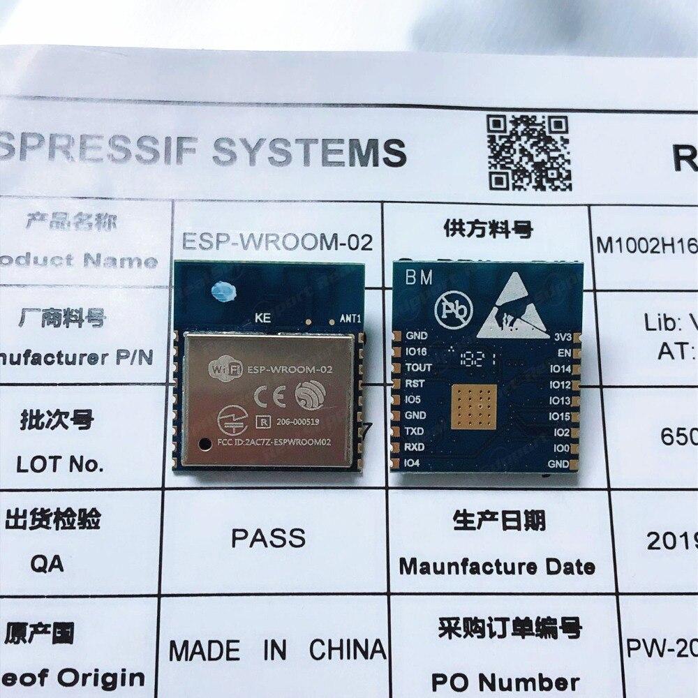 ESP-WROOM-02 2MB Flash Memory Standard Based On ESP8266 Espressif Authenticity Guaranteed FCC CE Certificated