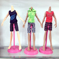 1 pcs Men Boy Monsters Male Leisure Clothes Shorts Beach Pants Set For Barbies Dolls Girls Birthday Christmas Gift