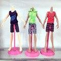 1 pcs Monstros Menino Lazer Roupas Masculinas Dos Homens Shorts Calças de Praia Set Para Barbies Dolls Aniversário Das Meninas Presente de Natal