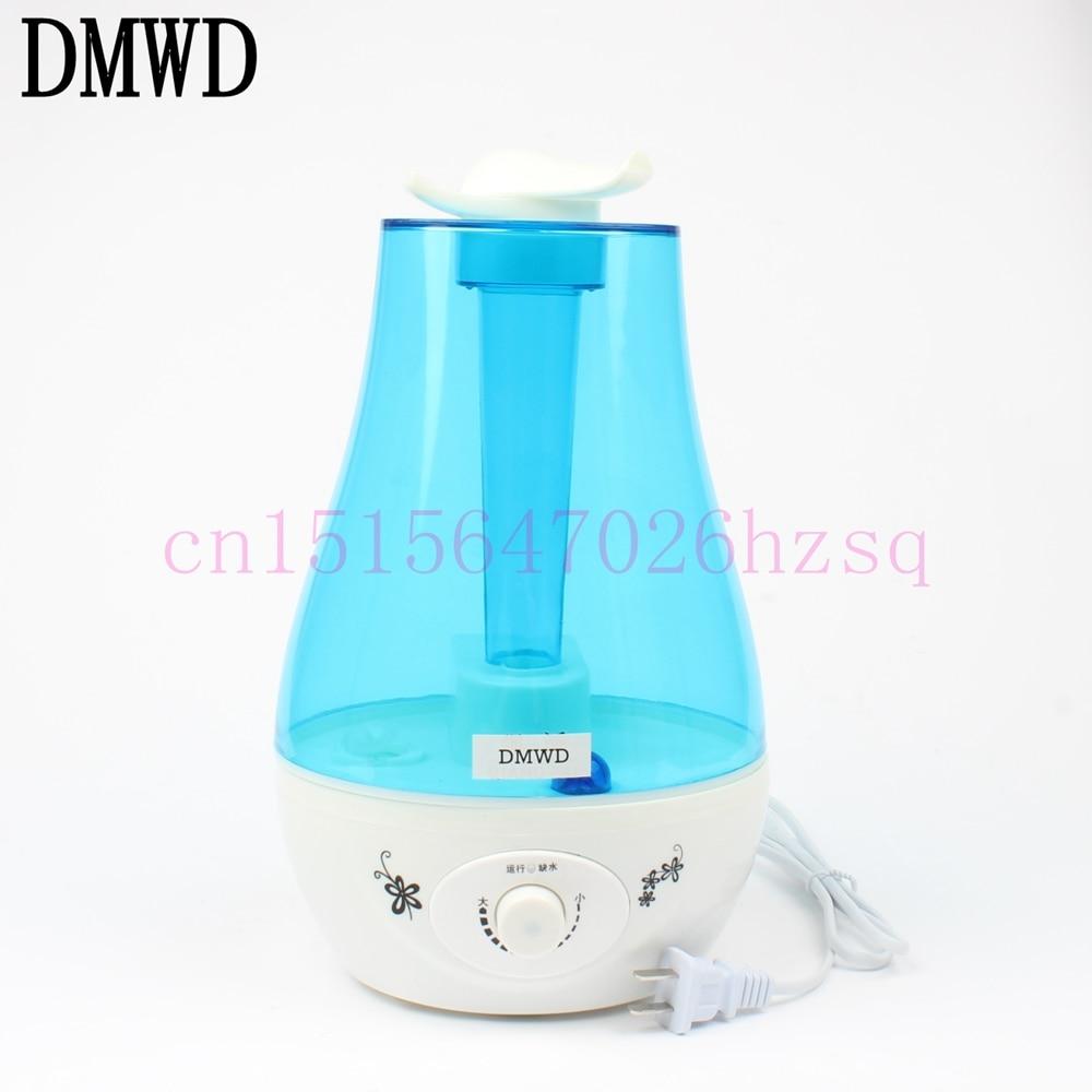 DMWD Ultrasonic Air Humidifier Mini Essential Oil Aroma Diffuser Mist Maker Fogger Air Purifier mini car air humidifier diffuser essential oil ultrasonic aroma mist purifier