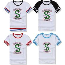 2019 new arrival Womens Tee Riverdale Jones Funny T-shirt female Sizes S-XL Print T Shirt Cool hip hop cotton camisas mujer