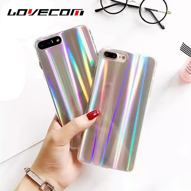 coque iphone 7 irisé
