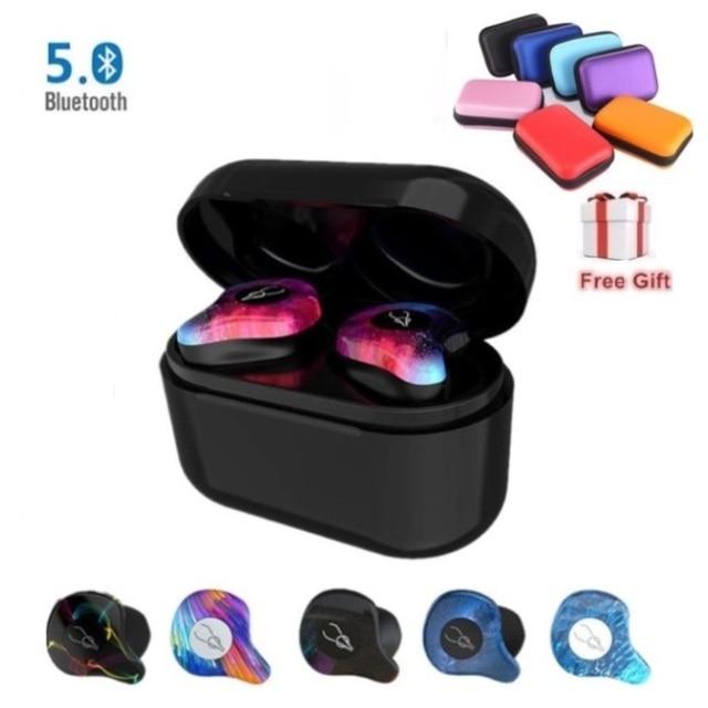 2020 Mini Wireless Bluetooth Earphone Sabbat X12 Pro TWS 3D Earbuds Stereo Sound Invisible V5.0 Waterproof Earphone Headset