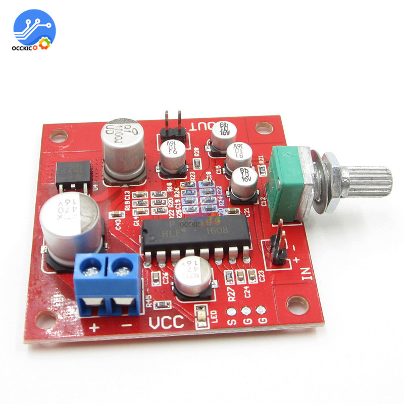 PT2399 Digital Microphone Amplifier Board Reverberation Module Microphone Placa Pre Amplificador Reverb Board Volume Control