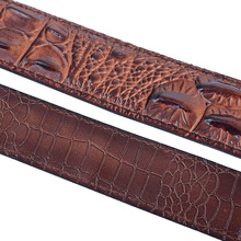 Fashionable Alligator Belt for Men