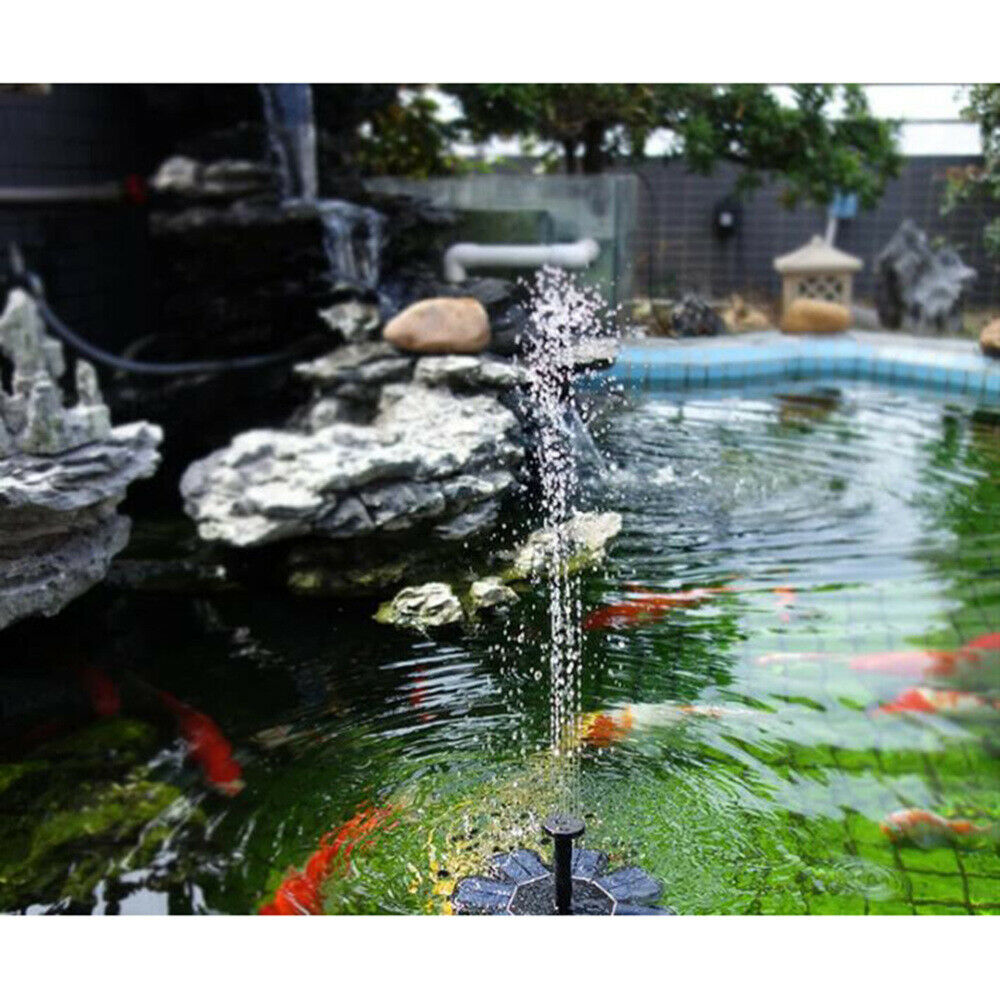 Image 3 - Super Outdoor Solar Powered Bird Bath Water Fountain Pump Solar Pond Pump Watering Kit for Pool&Garden&Aquarium Dropshipping-in Fountains & Bird Baths from Home & Garden