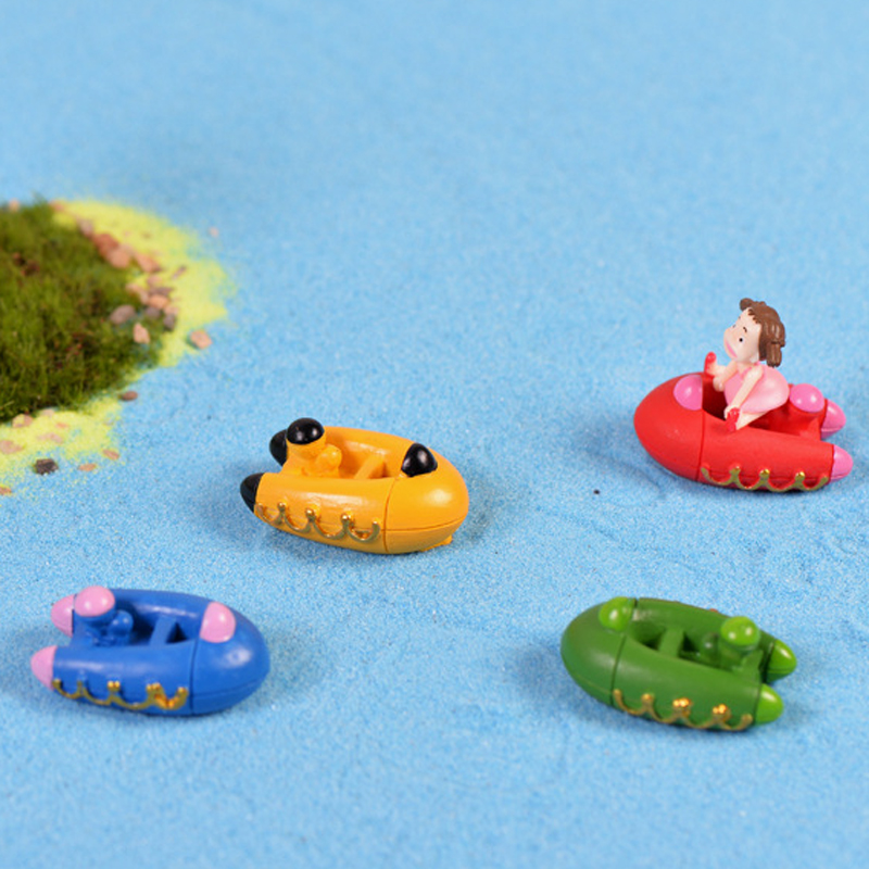 8pcs Beach Ocean Kayak Boat Mini jardin Terrarium Figurines Fairy Garden  Miniatures Moss Bonasi Tools Gnome. Popular Oceans Garden Furniture Buy Cheap Oceans Garden Furniture