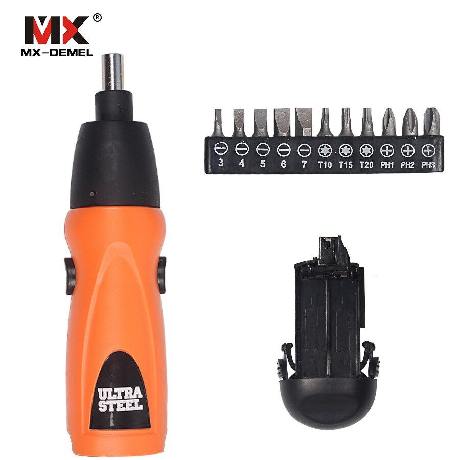Destornillador eléctrico MX-DEMEL Destornillador inalámbrico con - Herramientas eléctricas - foto 2
