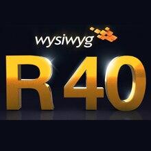WYSIWYG Release 40 R40 프리폼 암호화 된 개