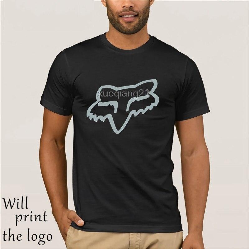 Fox Mtb Ranger Cntr Mens   T  -  Shirt  -Nero Tutte Le Dimensioni Mens 2018 di Marca di modo   T     Shirt   O-Collo 100% cotone   T  -  Shirt