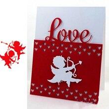 Angel Cupid Metal Cutting Dies for Scrapbooking Paper Craft Embossing Die Card Making Stencils New 2019 Valentine