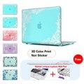 Печати сумка для Ноутбука Белый Кружева Голубой Фон Чехол Для Macbook Air 13 случае Air Pro 11 13 15 Retina Для Mac book Air 13 случае