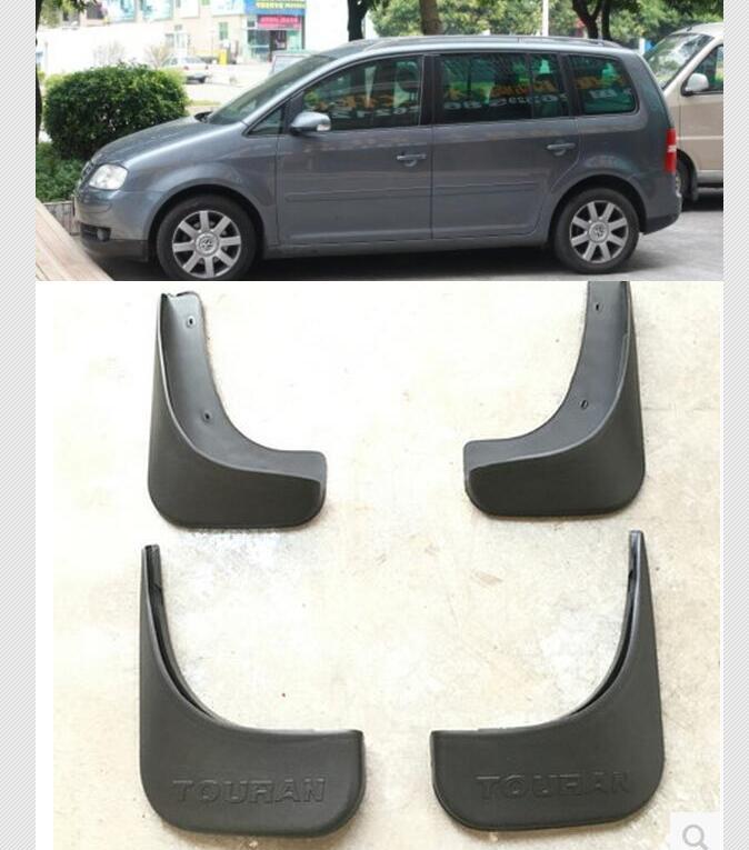4PCS FIT FOR VW TOURAN 2003-2011 MUDFLAPS MUD FLAP FLAPS SPLASH GUARDS MUDGUARDS 2010 2009 2008 2007 2006 2005 2004 fit for jeep wrangler jk 2007 2015 mudflaps mud flap splash guard mudguards front rear fender accessories
