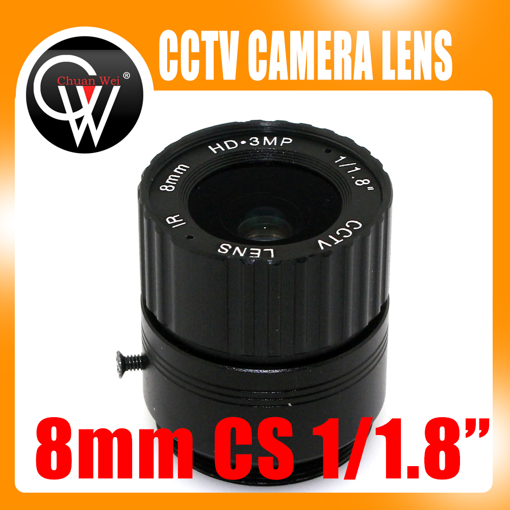 8mm cs lens HD CCTV Camera Lens 43 degree 3MP IR HD Security Camera Lens For HD IP AHD HDCVI SDI Cameras CS Mount hd 2mp 9mm 22mm zoom manual focal cs lens for hd ip sdi ahd cameras