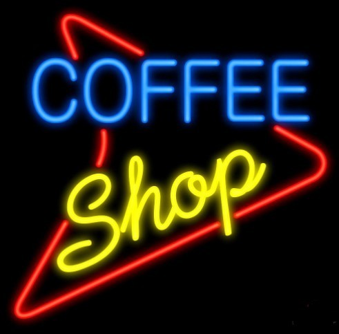 Coffee Shop Glass Neon Light Sign Beer Bar