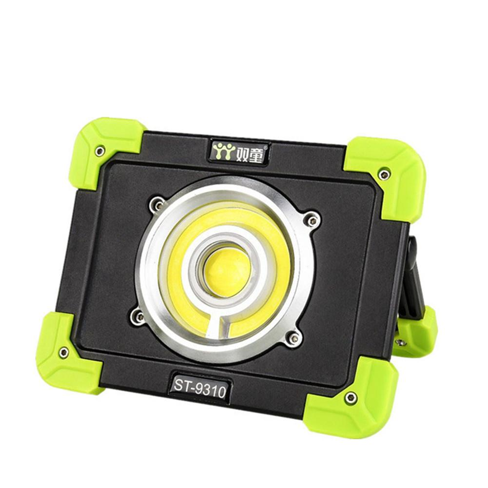 20W Rechargeable COB LED Working Light Floodlight Outdoor Portable Camping Lamp Spotlight 1500lm USB Charging Searchlight led lamp usb rechargeable built in battery cob xpe led light with magnet portable flashlight outdoor camping working torch lamps