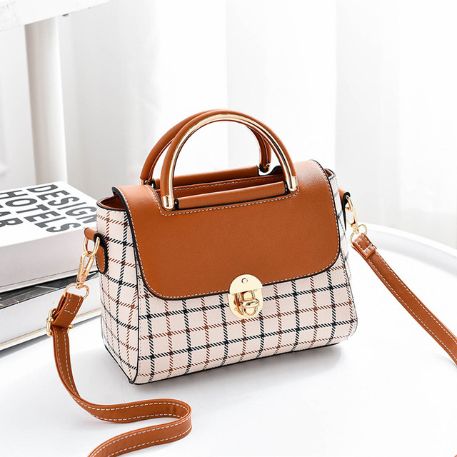 Luxury Women Leather Shoulder Ladies Handbags
