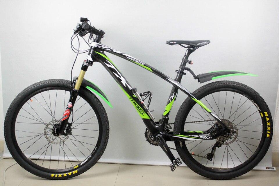 Completo cuadro de carbono MTB Doble Disco De freno de bicicleta 24 S groupset d