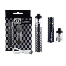 S22 kit 60W vape pen 1800mah battery with 2.5ml atomizer 0.3/ 0.5 ohm tank electronic cigarette kit vape mod e-cigarettes 80w vape pen hookah starter kit 4ml atomizer tank e cigarette with 1800mah battery box mod metal body electronic cigarette kits