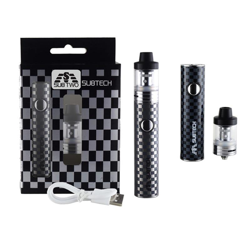 S22 kit de 60 W vape pluma 1800 mah de la batería con 2,5 ml atomizador 0,3/0,5 ohm tanque cigarrillo electrónico kit de vape mod e-cigarrillos