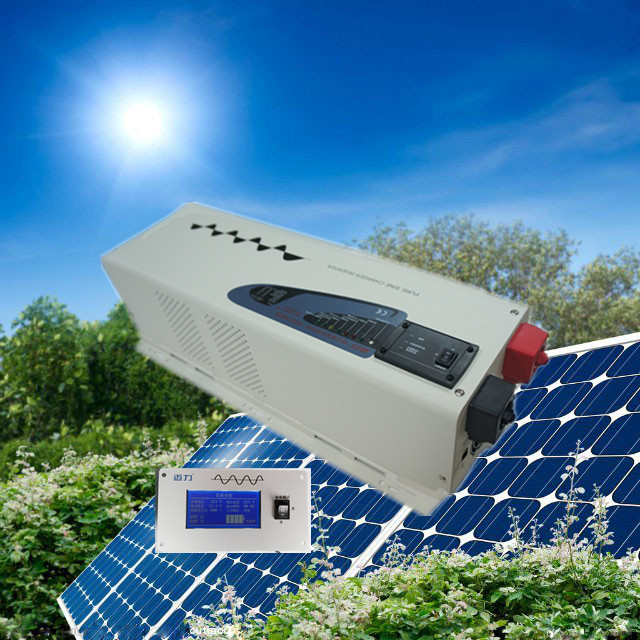 CE,ROHS,ISO9001,GMC approved dc24v to ac 230v power inverter 4000w low frequency ice cream inverter
