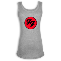 Foo Fighters Hard Rock And Roll Band Ladies Girl S O Neck Tank Top Fashion Persoanlity