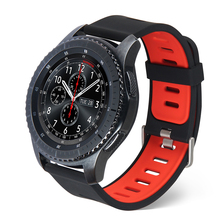 Silicone Sports Band for Samsung Gear S3 Frontier Replacement Watch Strap Classic Smart