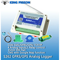 GSM RTU Удаленный Мониторинг Температуры Системы Сигнализации Записи GPRS/GPS SMS, Регистратор Данных 4 Аналоговых Реле Контроля Бесплатная Доставка S262