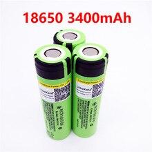Mah para Panasonic 18650b 2017 Liitokala 8 Pçs e lote Novo Original Ncr18650b Bateria Li-ion Recarregável 3.7 V 3400