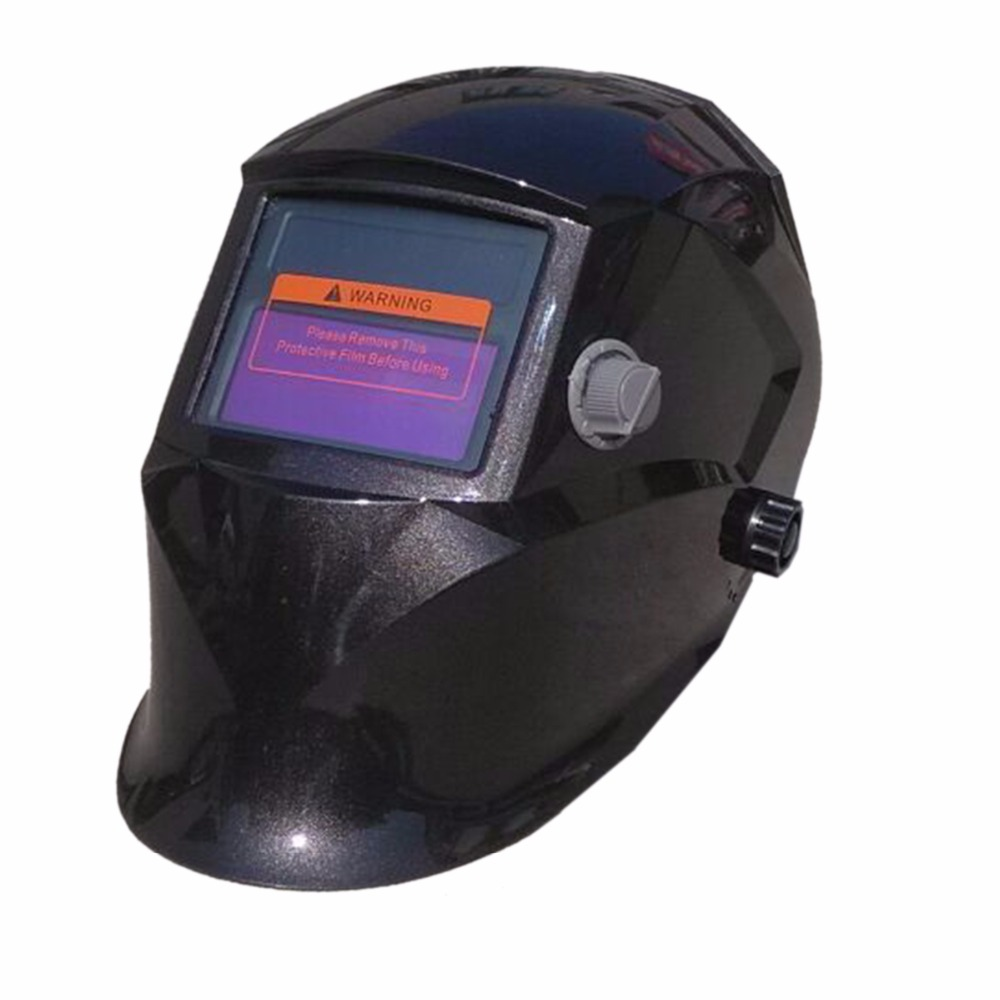 WS105 Black Auto Darkening Welding Helmet TIG MIG MMA Electric Welding Mask/Helmet/Welder Cap/lens for Welding dekopro skull solar auto darkening mig mma electric welding mask helmet welder cap welding lens for welding machine