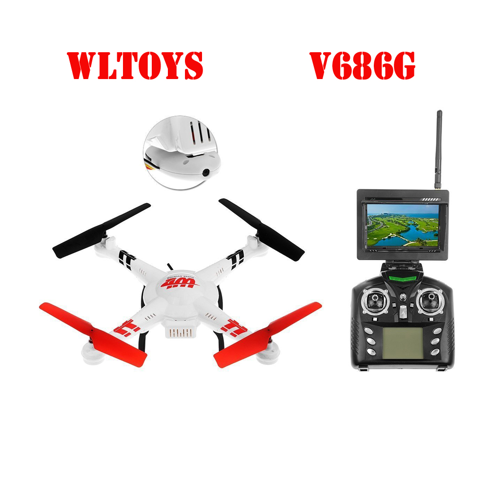 WLtoys V686 V686G FPV Headless Mode RC Quadcopter with 2MP Camera RC Quadcopter UFO with 6-axis Gyro  Mini RC /Helicopter