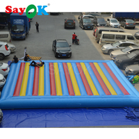 10x10m Inflatable Jump Pad Outdoor Pad Bouncer Air Mats Jumper Giant Kids Toys Inflatable Bouncy for Commercial Use
