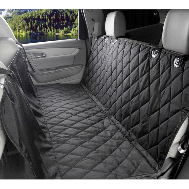 Foldable Waterproof Dog Car Seat Cover Pet Carriers Non Slip Mats Easy Washing Back