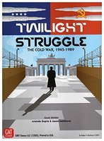 English Version Twilight Struggle Super Clear Cards High Quality The Cold War 1990 Borad Games Cards