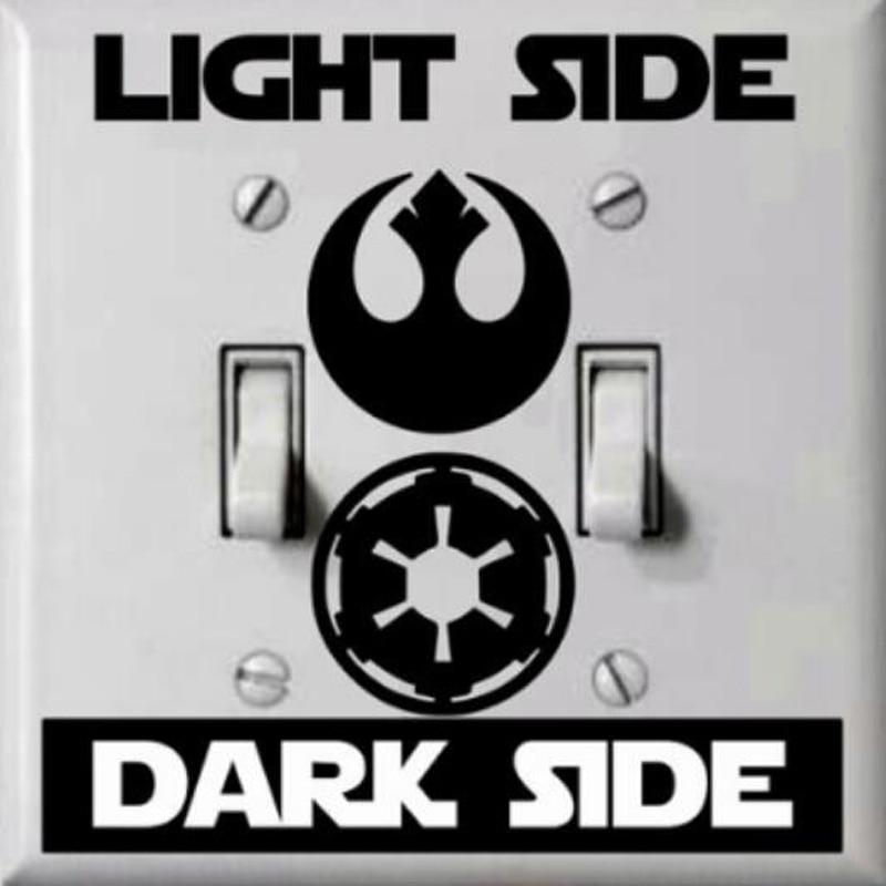 Classic Star Wars Switch Sticker Vinyl Decals Accessories Wall Sticker 1SS0023