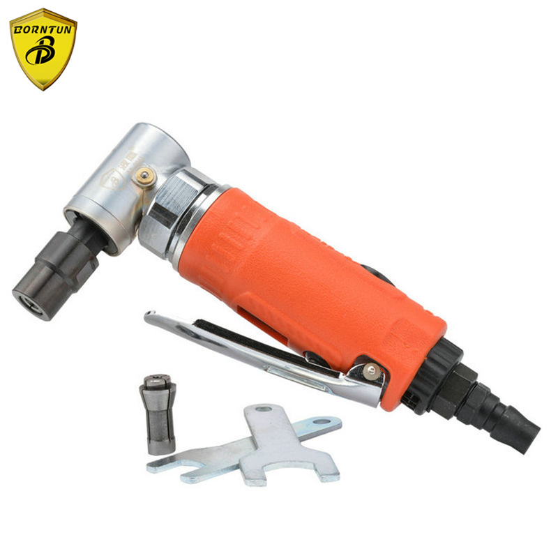 3mm Mini Borntun Pneumatic Air Die Grinder Micro Pneumatic Grinding 6mm Grinders High Speed 25000rpm Portable Air Power Polisher air die grinder mag 094n air tools max free speed 23 500rpm