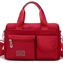 Новая сумка унисекс, нейлоновая большая спортивная сумка для тренажерного зала, сумка для фитнеса, тренировок, путешествий, рюкзак, сумка, водонепроницаемая